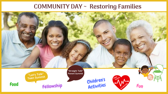 Community Day: Restoring Families