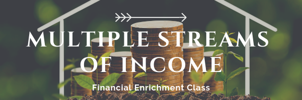 Multiple Streams of Income Enrichment Class at From the Heart Atlanta