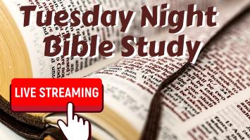 Tuesday Night Bible Study Livestream at From the Heart Atlanta