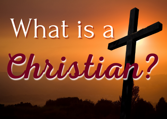 What is a Christian Series - Pastor Charles W. Starks - From the Heart Atlanta