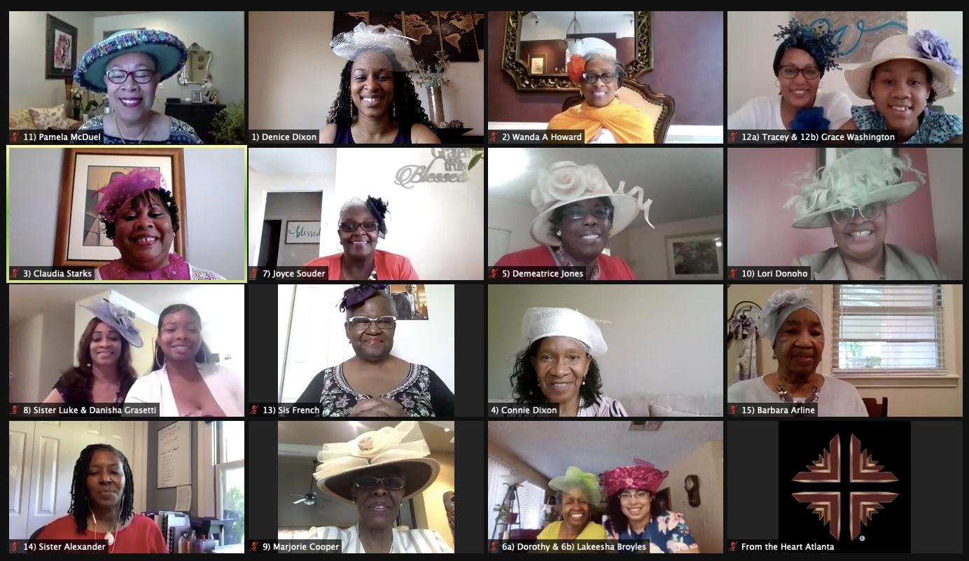 Virtual Mother's Day Tea Zoom Photo